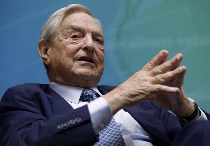 "<figcaption>Billionaire ""Democracy spreader"" George Soros</figcaption>"