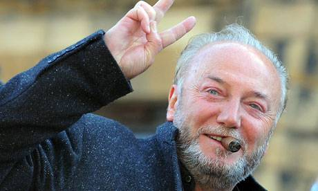<figcaption>London Mayoral candidate George Galloway</figcaption>