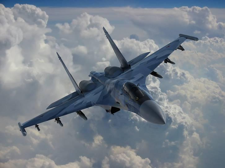 <figcaption>The super-advanced Su-35</figcaption>
