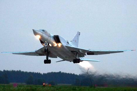 <figcaption>Tu-22M3   Photo: Marina Lystseva, TASS</figcaption>