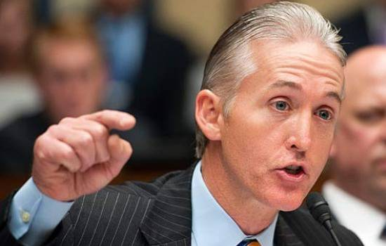 <figcaption>The demands are coming from both sides of the aisle - Republican Congressman Trey Gowdy</figcaption>