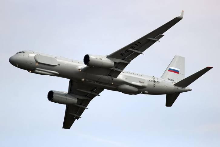 <figcaption>The Tu-214R</figcaption>