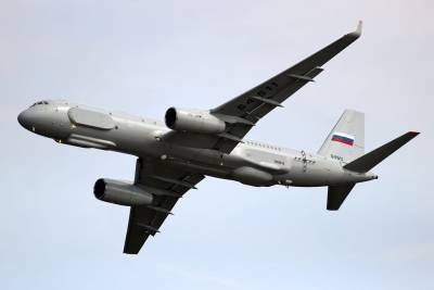 <figcaption>The Tu-214R, Russia's most advanced spy plane</figcaption>