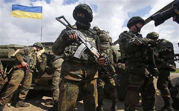 <figcaption>Prime Minister Yatsenyuk has made a habit of saying the Ukrainians are fighting for Western civilization</figcaption>
