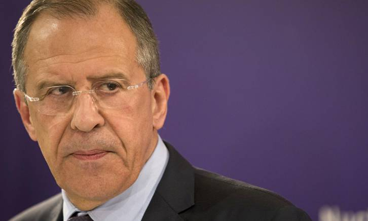 <figcaption>Lavrov's Russia is calling upon nations to shed their chains, to stop pushing their national interests to one side while listening to instructions from Washington.</figcaption>