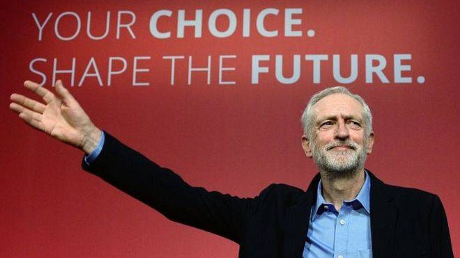 <figcaption>&quot;Now in England, there is a terrible witch-hunt for anti-semites in the Labour Party. The idea is to destroy Jeremy Corbyn, to return the party to the people of Blair and his Jewish paymaster Mandelson ...&quot;</figcaption>