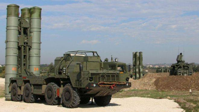 <figcaption>The formidable S-400 deployed to Syria</figcaption>