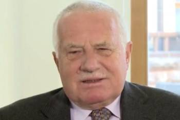 <figcaption>Ex-president Václav Klaus</figcaption>