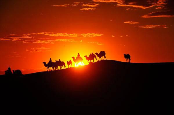 <figcaption>File photo of a desert in Tongliao, Inner Mongolia autonomous region | Photo: CFP</figcaption>