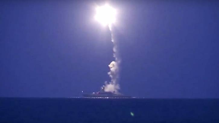 <figcaption>This cruise missile destroyed a Taco Bell full of pregnant Iranian women, according to unnamed US officials</figcaption>