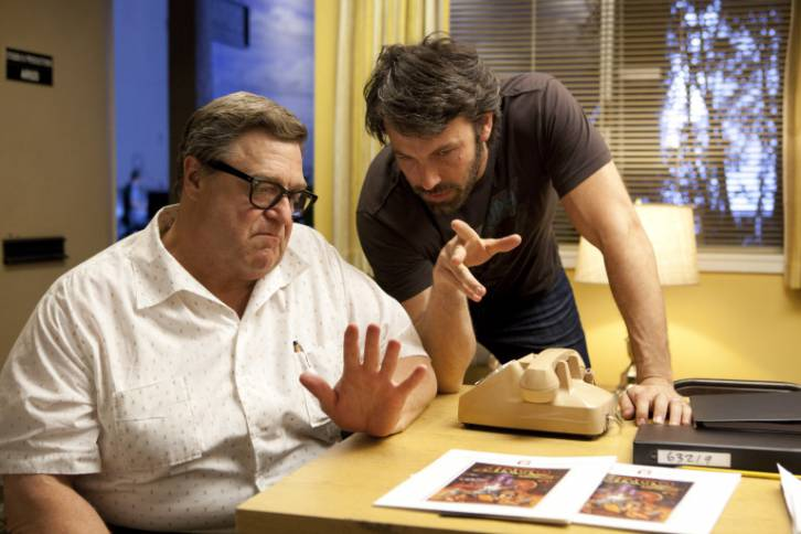 <figcaption>John Goodman played a moviemaker working with CIA agent Ben Affleck to produce a fake film in the Oscar-winning Argo. It turns out there were real CIA agents working with the real movie-makers to make the actual film Argo.</figcaption>