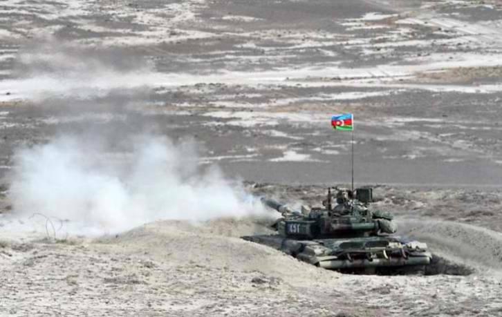<figcaption>Firing on Armenian positions</figcaption>