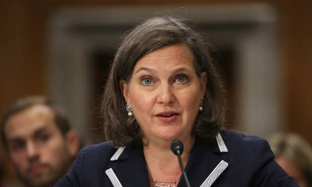 <figcaption>For Nuland, the more guns the better</figcaption>