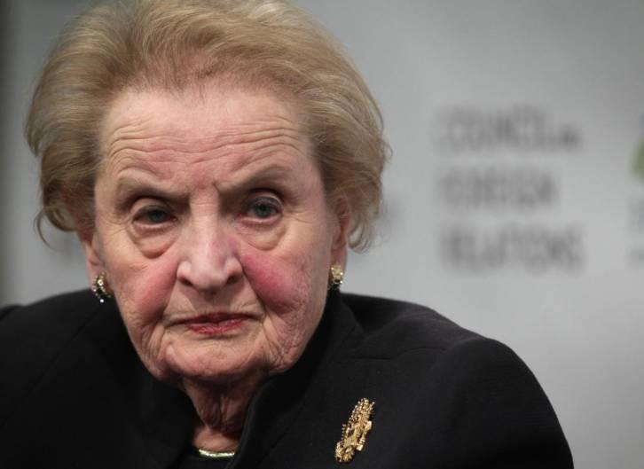 <figcaption>Madeleine Albright</figcaption>