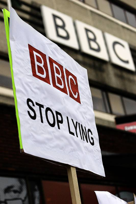 <figcaption>The BBC has become a symbol of lying about Syria</figcaption>