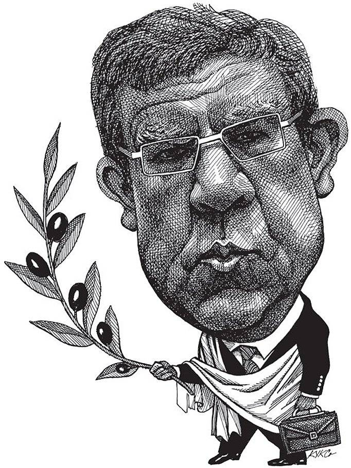 <figcaption>Alexey Kudrin, ex-finance minister and currently economic advisor to the President is popular in the West and next to hated in his own country</figcaption>