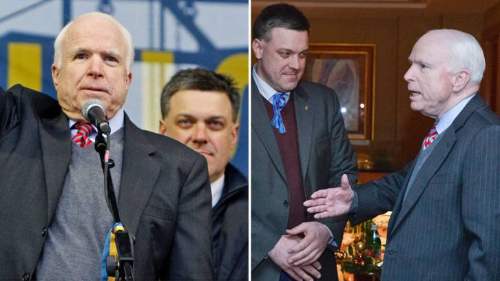 With McCain