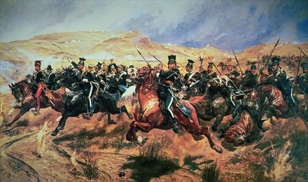 <figcaption> I tradizionali piani di battaglia della Crimea britannica </ figcaption>