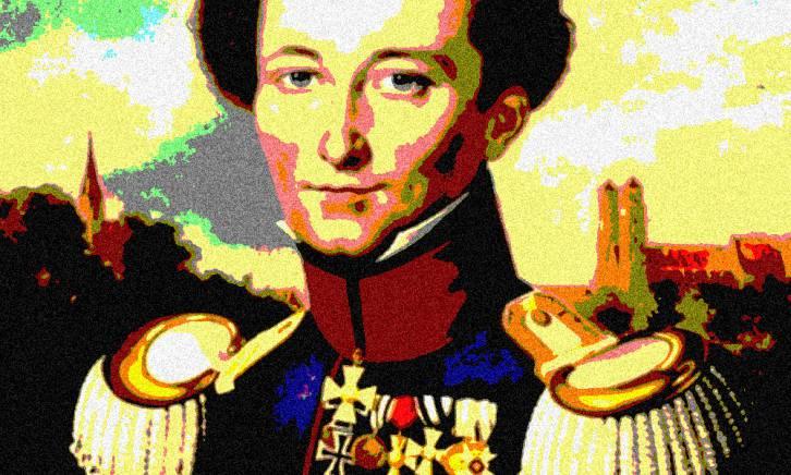 <figcaption>Prussian General Carl von Clausewitz</figcaption>