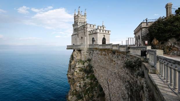 <figcaption>Perhaps a symbol of Crimea more apt than ever</figcaption>