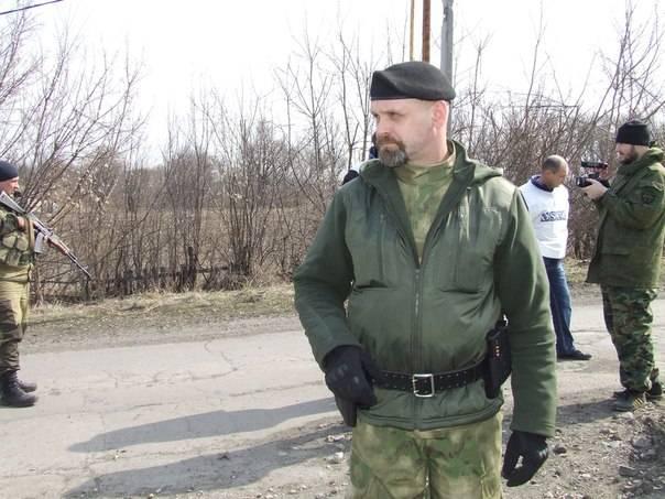 <figcaption> Famous Donbass militia leader Alexei Mozgovoi</figcaption>