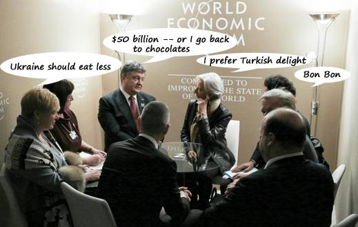 <figcaption>At a meeting on Wednesday in Davos, Switzerland?</figcaption>