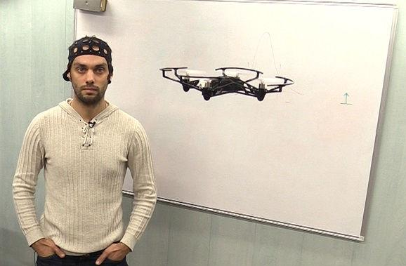 <figcaption>Russian Scientist Demonstrating Mind Controlled Flight</figcaption>