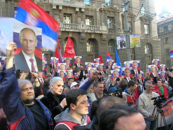 <figcaption>Support for Putin in Serbia</figcaption>