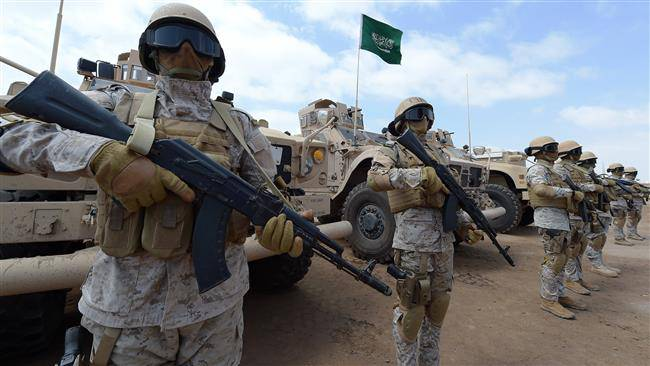 <figcaption>Saudi storm-troopers</figcaption>
