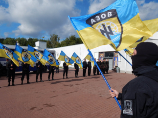 <figcaption>Azov to the rescue!</figcaption>