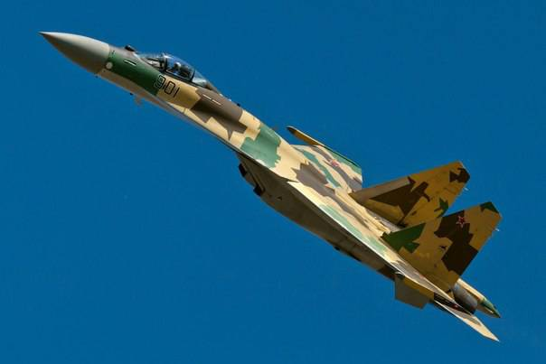 <figcaption>Here Comes the Russian SU-35</figcaption>
