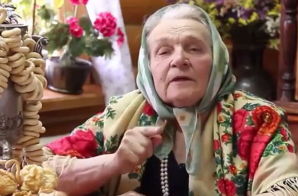 <figcaption>The Russian Babushka - the glue of Russian society</figcaption>