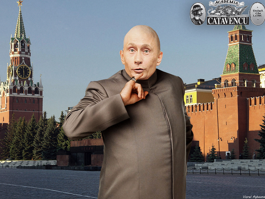 <figcaption>Putin is definitely a new Dr. Evil.</figcaption>