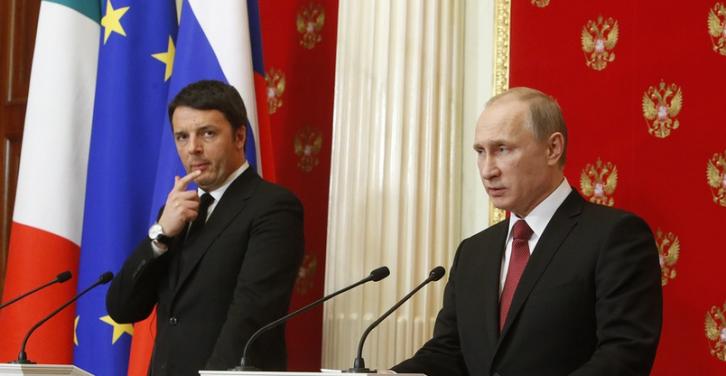 <figcaption>Normalizing EU-Russia relations?</figcaption>
