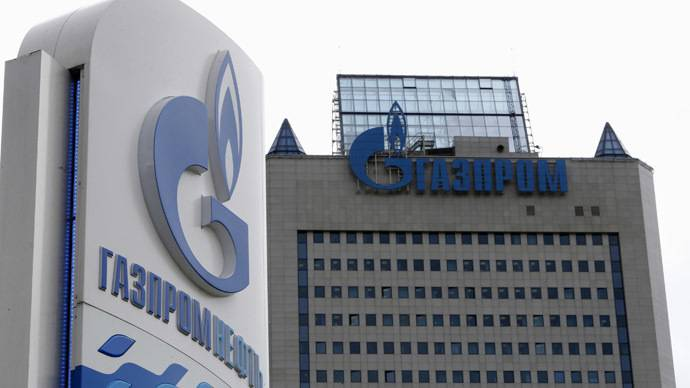 <figcaption>As with almost every other major Russian company, 2014 was not a particularly good year for Gazprom</figcaption>