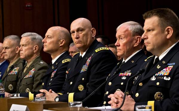 <figcaption>American generals doing what they do best, begging for big bucks</figcaption>