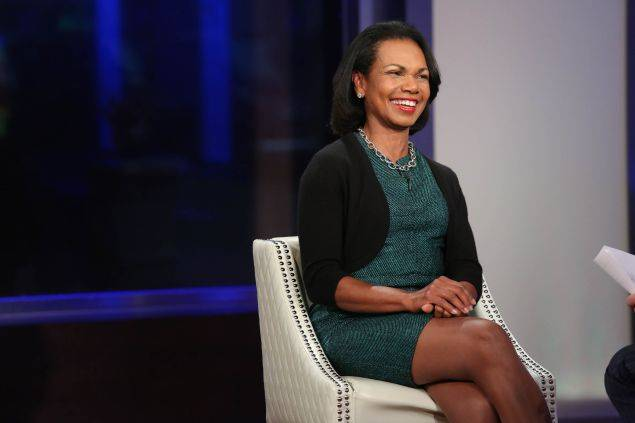 <figcaption>Former Secretary of State Condoleezza Rice.</figcaption>