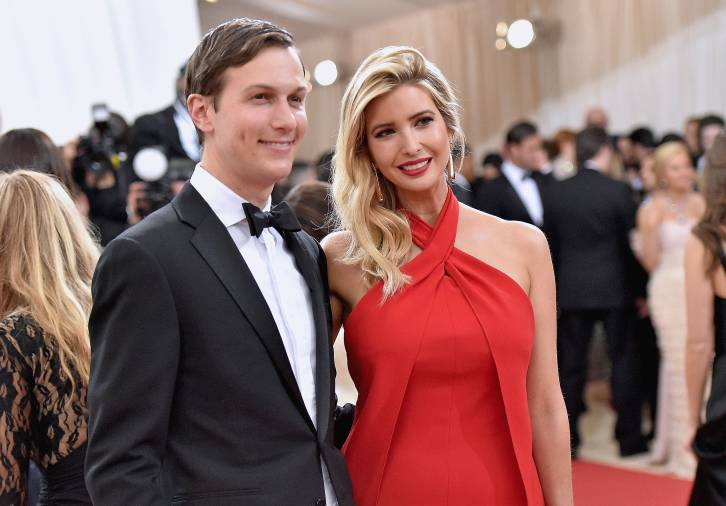 <figcaption>Bateman and Ivanka on the red carpet</figcaption>