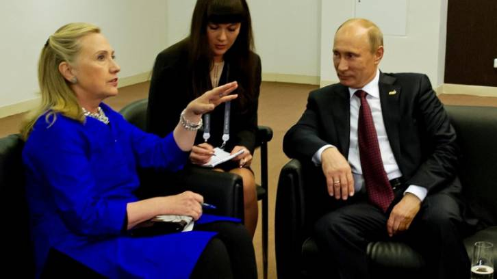 <figcaption>In reality the Russians correctly believed she had good chances of winning regardless and didn't want to burn bridges with her</figcaption>