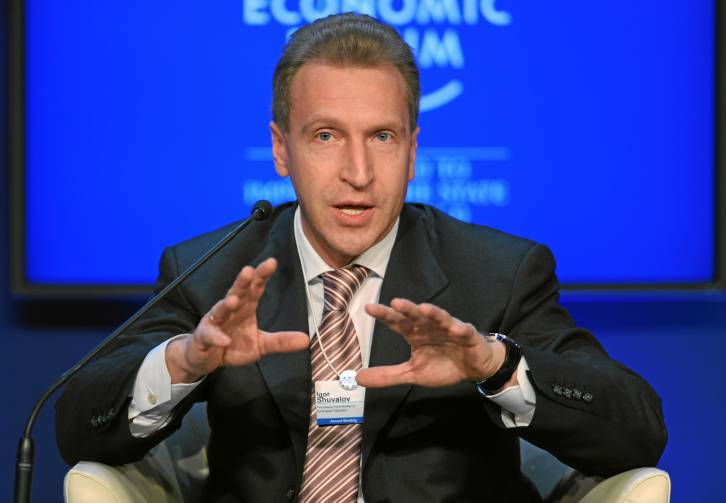 <figcaption>Shuvalov's announcement to join came as no surprise</figcaption>