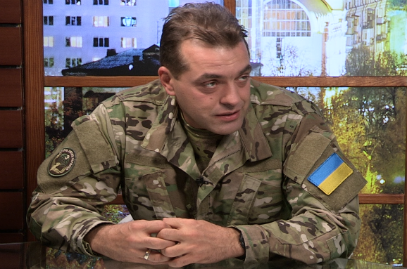 "<figcaption>Biryukov said that the draft was proceeding ""normally"" in southern and central areas closer to the conflict, such as Odesa, Mikolaevsk and Dnipropetrovsk.</figcaption>"