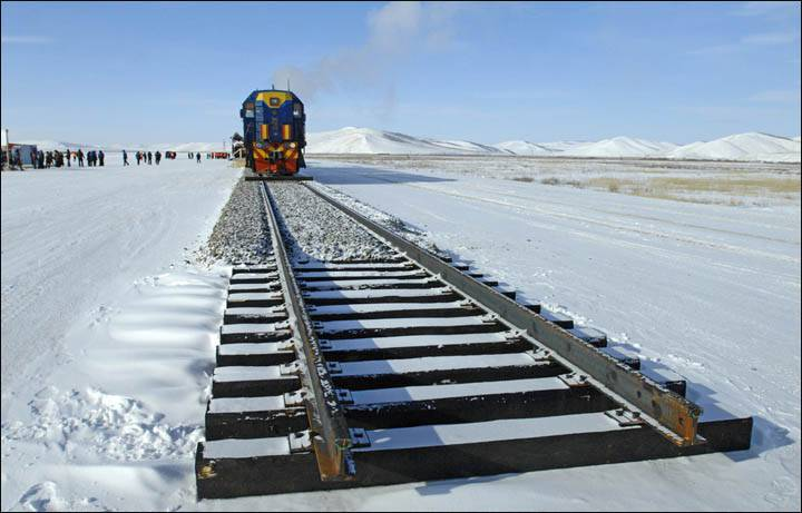 <figcaption>Cargo traffic on the railways is expected to grow by 56 million tonnes in 16 years | Photo: TraveLiving</figcaption>