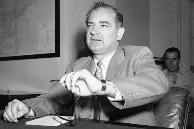<figcaption>Joseph McCarthy would feel right at home in 2015</figcaption>