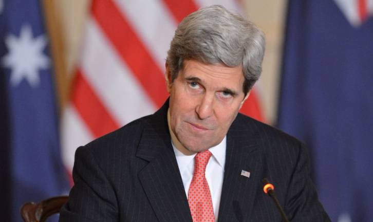 <figcaption>U.S. Secretary of State John Kerry</figcaption>