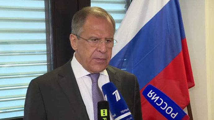 <figcaption>Lavrov says US should not exploit fight against terrorism in Syria</figcaption>