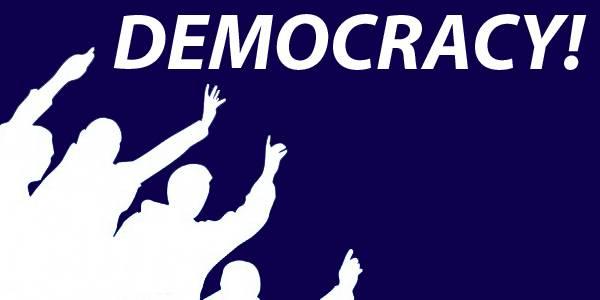 <figcaption>Democracy - yay!</figcaption>