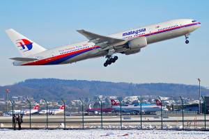 <figcaption>A Malaysia Airways' Boeing 777 like the one that crashed in eastern Ukraine on July 17, 2014.</figcaption>