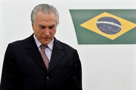 <figcaption>The BRICS group should ensure Temer is not able to impact the cohesion of the BRICS</figcaption>