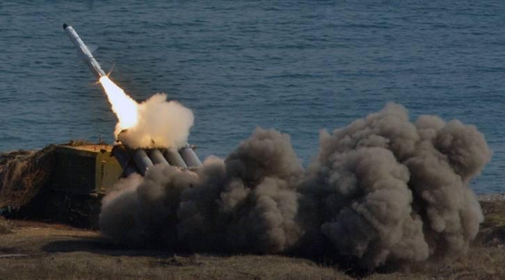 <figcaption>The Bal coastal missile system © Vitaliy Ankov / Sputnik</figcaption>