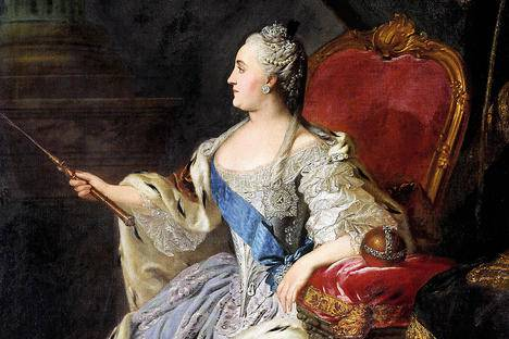 <figcaption>Catherine II, the most famous of the women who ruled Russia. Source: Press photo</figcaption>